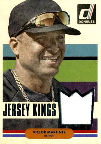 Photo of 2015 Donruss Jersey Kings #40 Victor Martinez