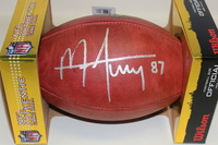 NFL - LIONS MIKE FURREY SIGNED AUTHENTIC FOOTBALL