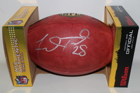 NFL - JAGUARS FRED TAYLOR SIGNED AUTHENTIC FOOTBALL