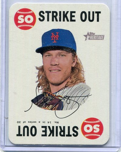 Photo of 2017 Topps Heritage Topps Game #14 Noah Syndergaard