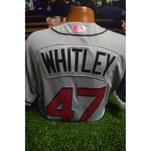 Photo of Game-Used Mother's Day Jersey: Chase Whitley
