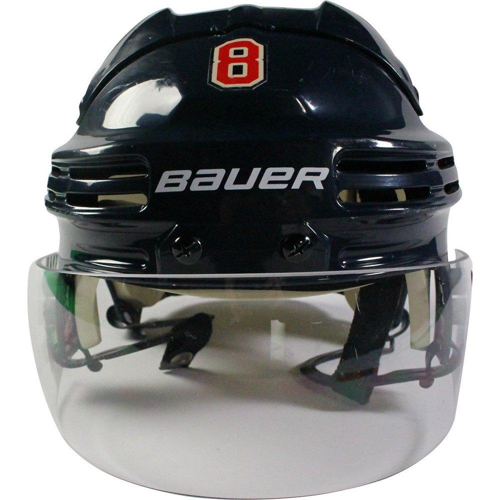 Kevin Klein New York Rangers 2016-2017 Season Game Used #8 Navy Helmet w/ 100th Anniversary Sticker