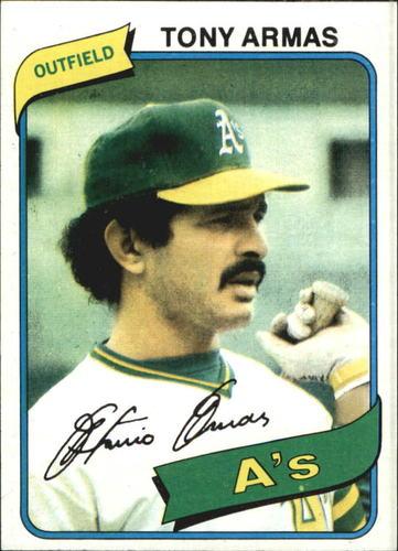 Photo of 1980 Topps #391 Tony Armas DP
