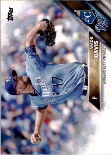 Photo of 2016 Topps #307 Wade Davis