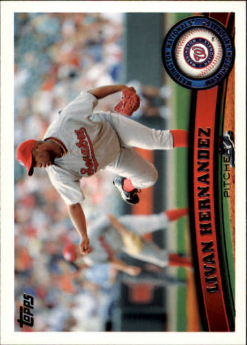 Photo of 2011 Topps #451 Livan Hernandez