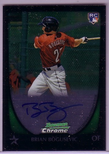 Photo of 2011 Bowman Chrome Rookie Autographs #209 Brian Bogusevic
