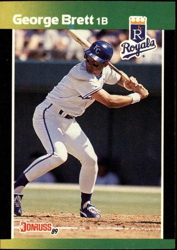 Photo of 1989 Donruss Baseball's Best #7 George Brett