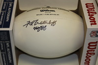 HOF - RAIDERS FRED BILETNIKOFF SIGNED PANEL BALL
