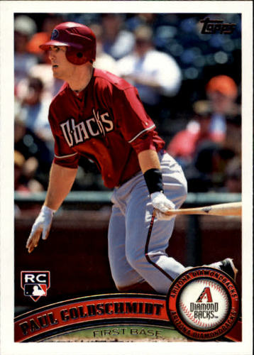 Photo of 2011 Topps Update #US47 Paul Goldschmidt RC