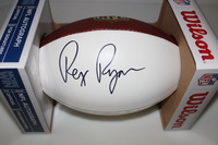 BILLS - REX RYAN SIGNED PANEL BALL