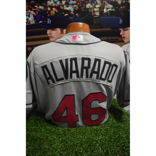 Photo of Game-Used Mother's Day Jersey: Jose Alvarado