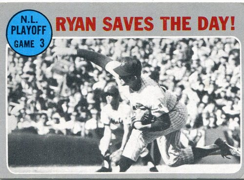 Photo of 1970 Topps #197 NL Playoff Game 3/Nolan Ryan