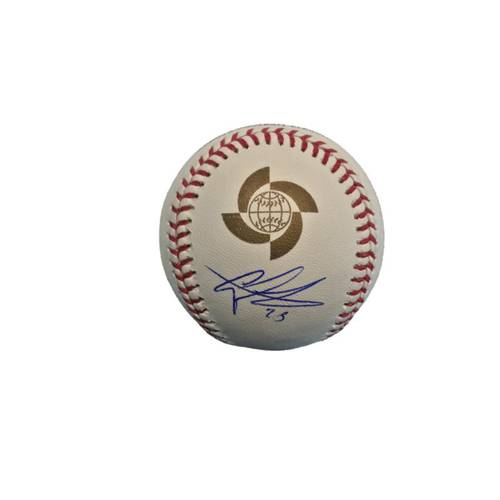 Photo of Gregory Polanco Autographed 2017 World Baseball Classic Baseball