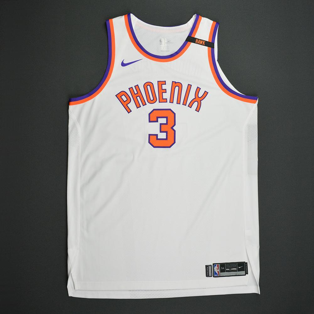 Jared Dudley - Phoenix Suns - Kia NBA Tip-Off 2017 - Hardwood Classics 1968-69 Home Style Game-Issued Jersey w/ HAWK Patch