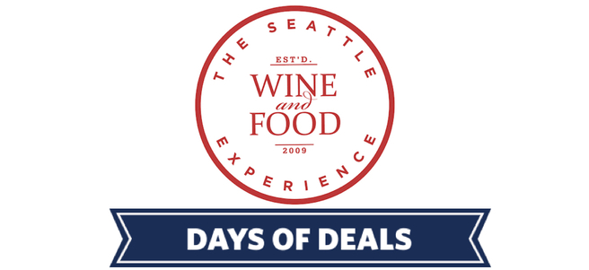 THE SEATTLE WINE AND FOOD EXPERIENCE - PACKAGE 1 of 4