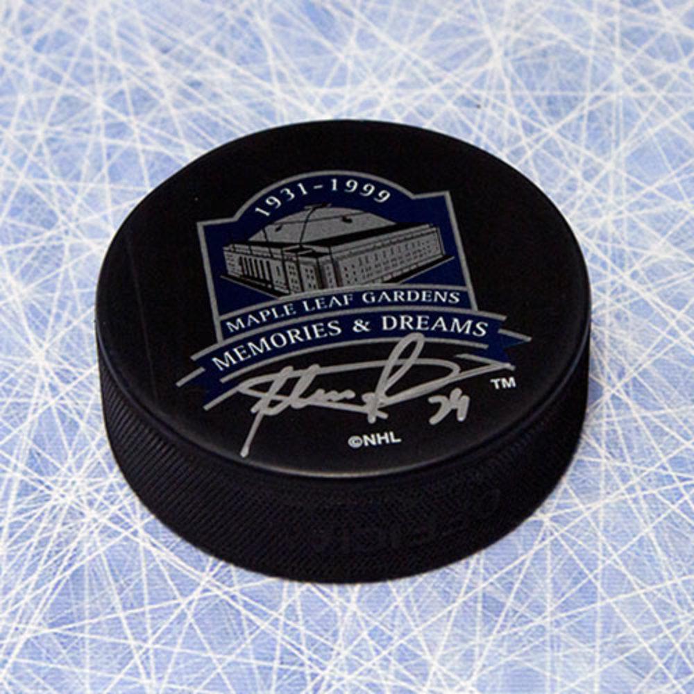 Felix Potvin Toronto Maple Leafs Autographed MLG Memories & Dreams Puck