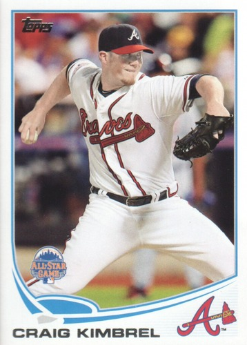 Photo of 2013 Topps Update #US53A Craig Kimbrel