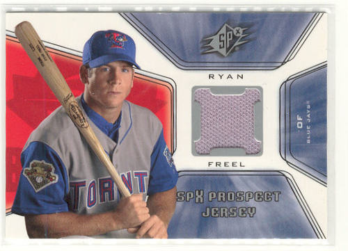 Photo of 2001 SPx #128 Ryan Freel JSY RC