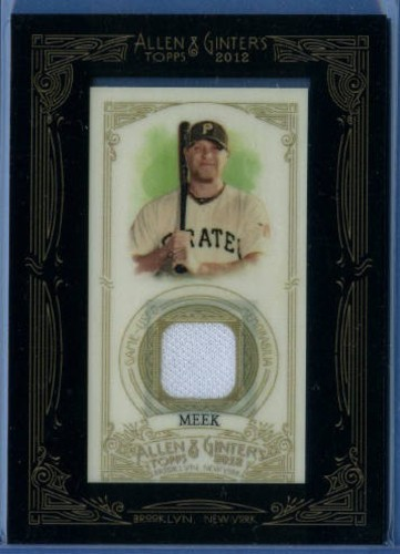 Photo of 2012 Topps Allen and Ginter Relics #EM Evan Meek