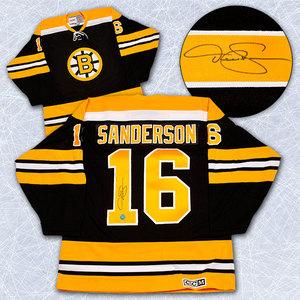 Derek Sanderson Boston Bruins Autographed Retro CCM Jersey