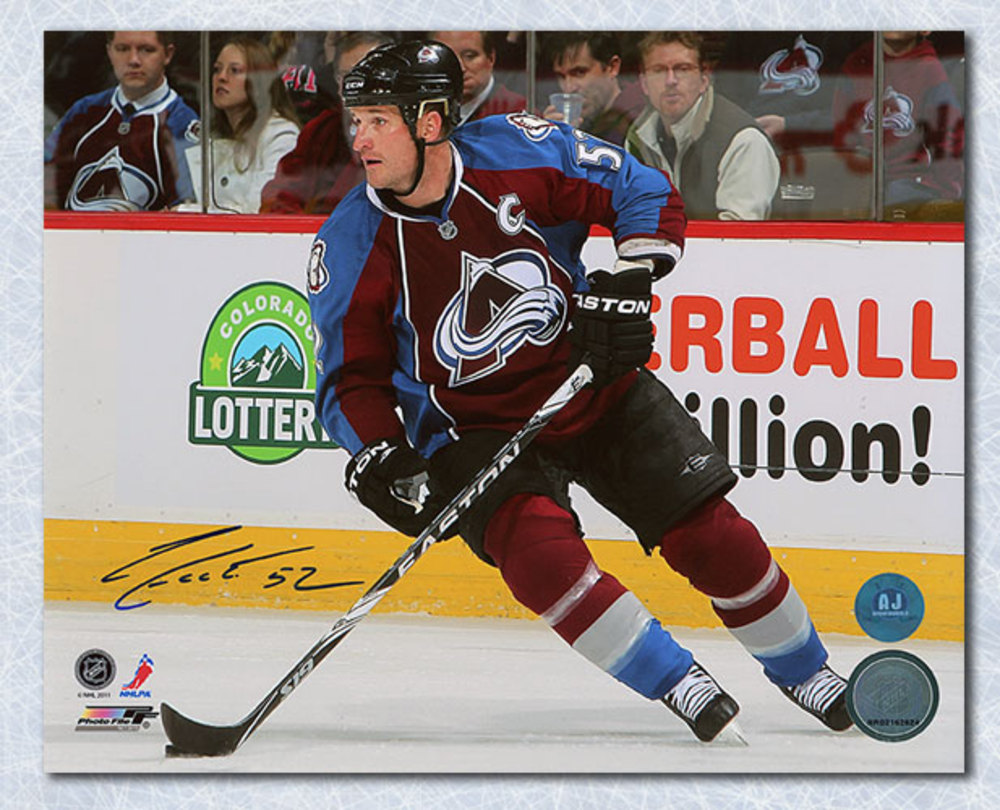 Adam Foote Colorado Avalanche Autographed Captain 8x10 Photo