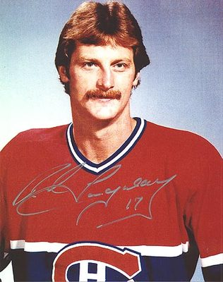 ROD LANGWAY Montreal Canadiens SIGNED 8x10 Photo