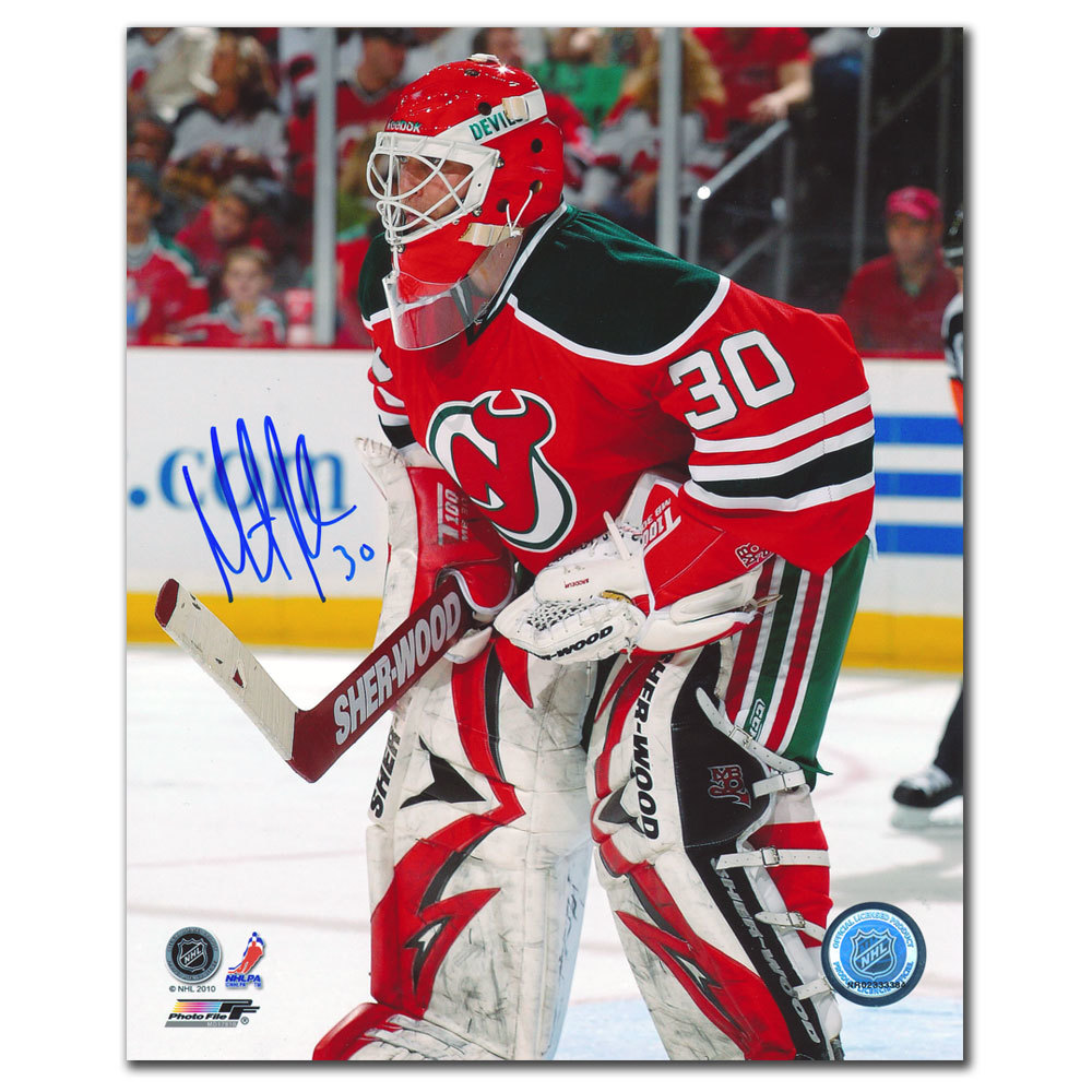 Martin Brodeur New Jersey Devils Stanley Cup Years Autographed 16x20 - GUARANTEED FOR XMAS!