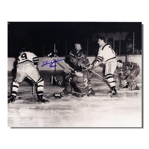 Tom Johnson (deceased) Autographed Montreal Canadiens 8x10 Photo