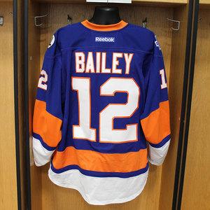 Josh Bailey - Game Worn Home Jersey - 2015-16 Season - New York Islanders
