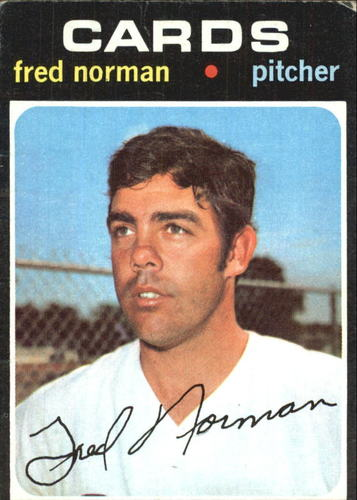 Photo of 1971 Topps #348 Fred Norman