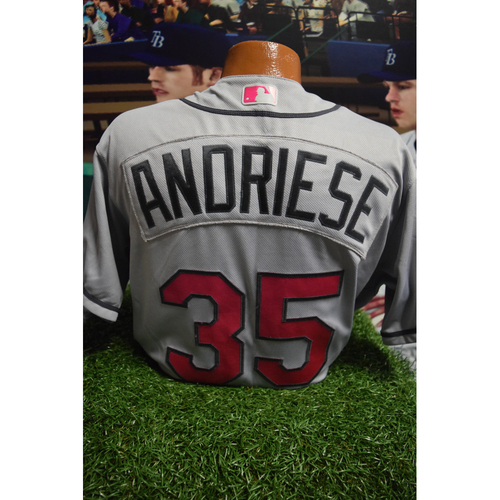 Photo of Game-Used Mother's Day Jersey: Matt Andriese