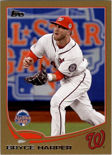 Photo of 2013 Topps Update Gold #US180 Bryce Harper