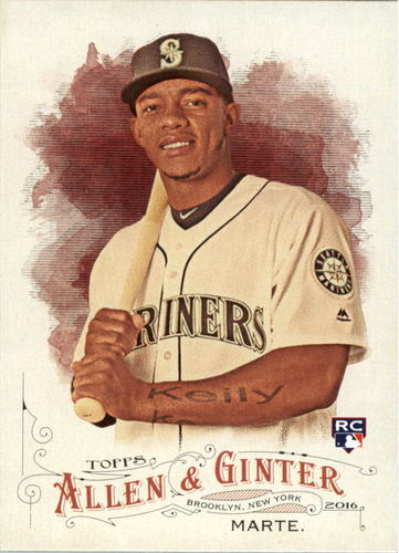 Photo of 2016 Topps Allen and Ginter #49 Ketel Marte Rookie Card -- D'backs post-season