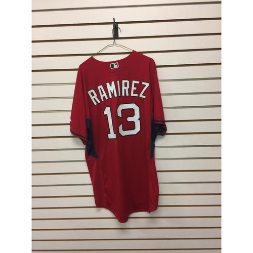 Hanley Ramirez Team-Issued Home Batting Practice Jersey