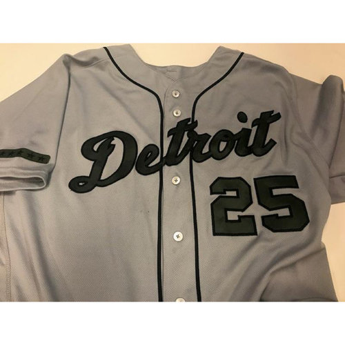 Photo of Game-Used Dave Clark Memorial Day Jersey