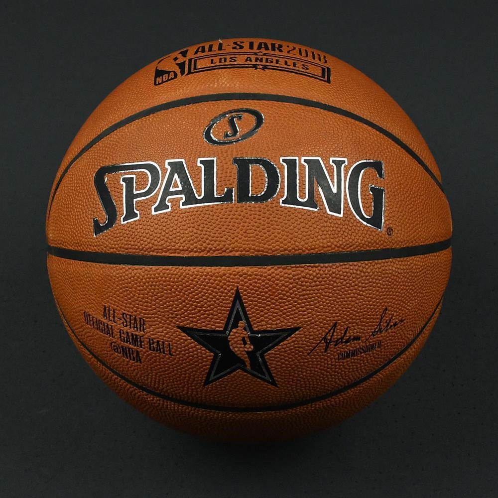 NBA All-Star Game and Mtn Dew Kickstart Rising Stars 2018 - Practice-Used Basketball