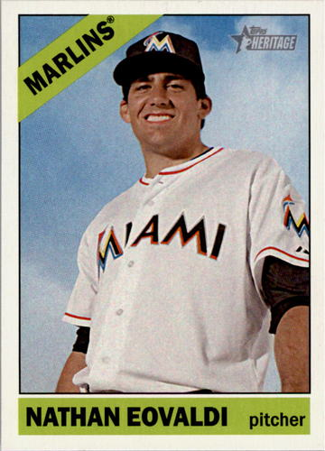 Photo of 2015 Topps Heritage #284 Nathan Eovaldi
