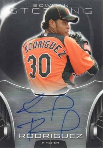 Photo of 2013 Bowman Sterling Prospect Autographs #ER Eduardo Rodriguez