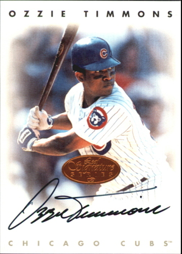 Photo of 1996 Leaf Signature Autographs #224 Ozzie Timmons