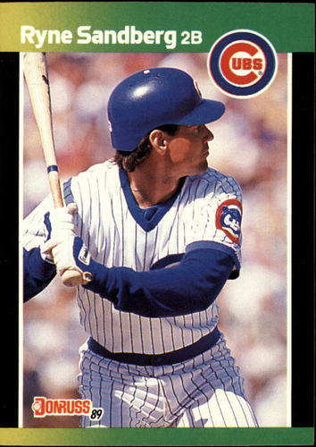 Photo of 1989 Donruss Baseball's Best #26 Ryne Sandberg