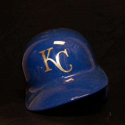 Photo of Raul Mondesi Game-Used Helmet (9/30/16) (Size 7 1/2)