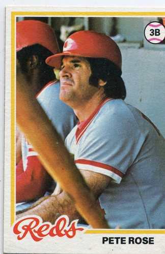 Photo of 1978 Topps #20 Pete Rose