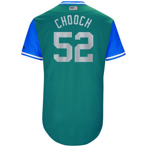 """Photo of Carlos """"Chooch"""" Ruiz Seattle Mariners Game-Used Players Weekend Jersey"""