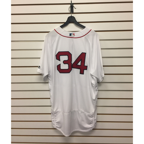 David Ortiz Team-Issued 2016 Home Jersey