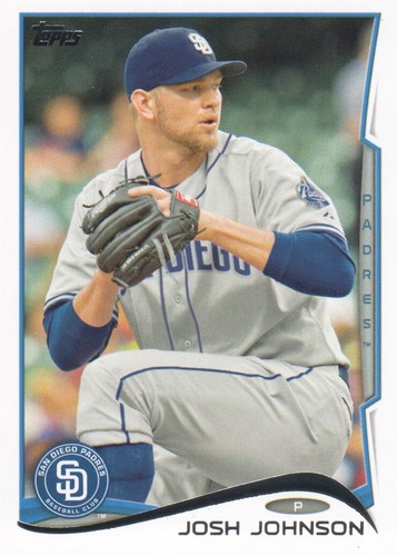 Photo of 2014 Topps #635 Josh Johnson