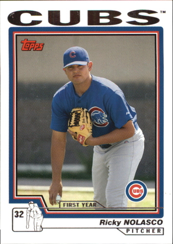 Photo of 2004 Topps Traded #T185 Ricky Nolasco FY RC