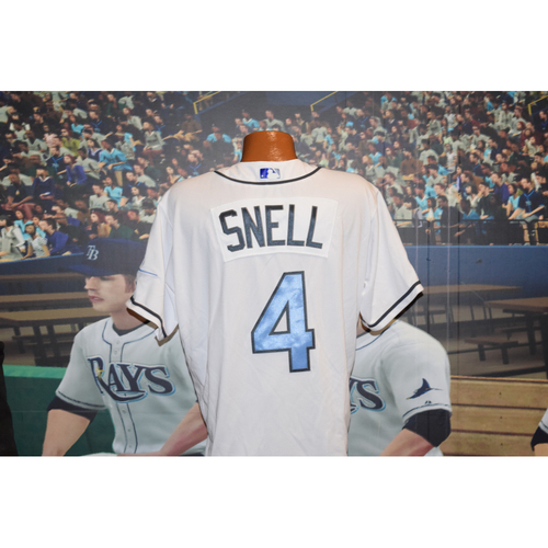 Photo of Game-Used Father's Day Jersey: Blake Snell