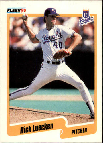 Photo of 1990 Fleer #113 Rick Luecken RC
