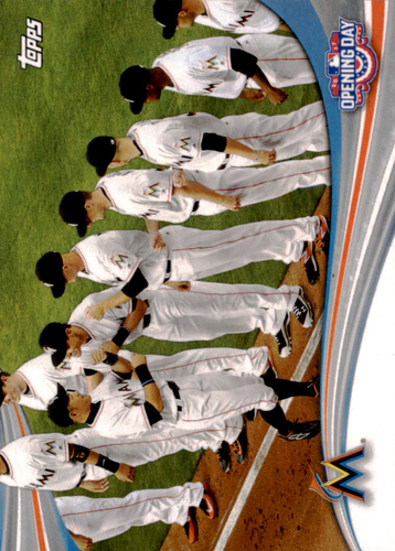 Photo of 2017 Topps Opening Day Opening Day #ODB15 Miami Marlins