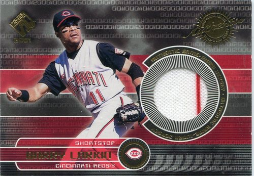Photo of 2001 Private Stock Game Gear #48 Barry Larkin Jersey